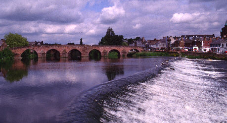 dumfries water river nith picture photograph image
