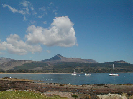 island of arran in summer photographs pictures