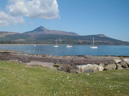 brodick bay isle of arran picture photograph image