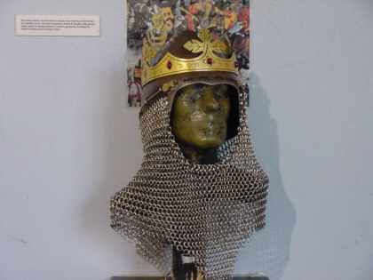 chainmail picture robert the bruce photograph scottish armour pictures