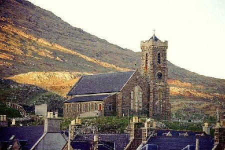 church at barra In The Western Isles picture photograph