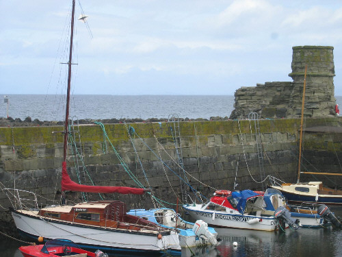 dunure harbour picture photograph