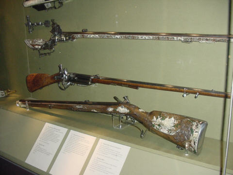 flintlock rifles picture photograph