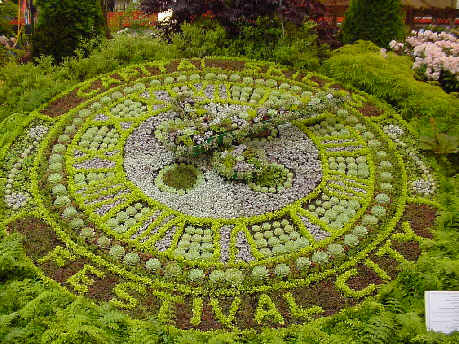 floral clock picture photograph edinburgh princes street