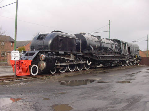 garrett steam train picture