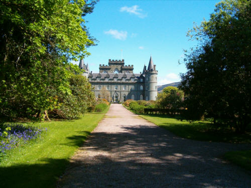 inverary castle picture and photographs images of Scottish and scotland castles