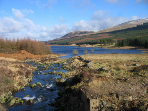 loch doon photograph picture