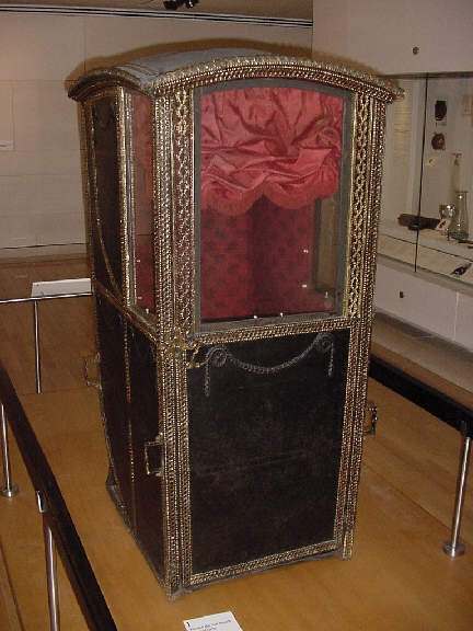 doctor's sedan chair pictures photographs images of scottish history