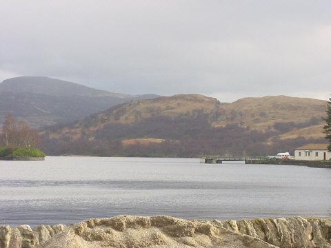 stronachlacher pier loch katrine picture Photograph picture scotland nature scene