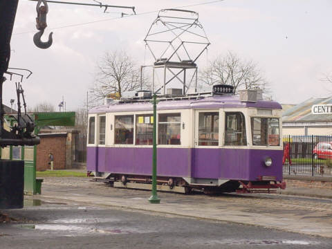 summerlee tram picture photograph