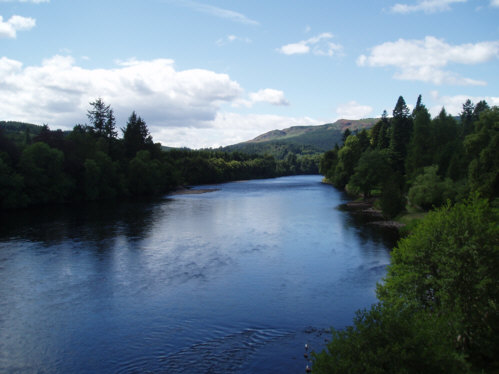 River Tay at Dunkeld Scottish Landscape Pictures