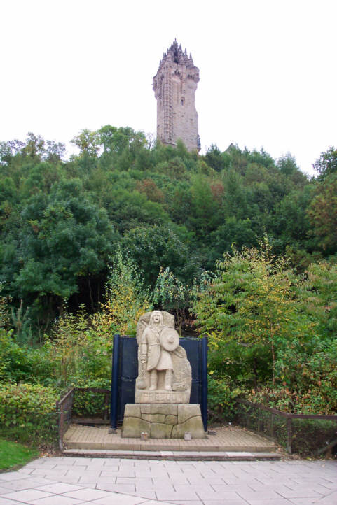 wallace monument picture photograph
